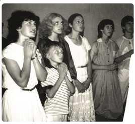 1983 Prime apparizioni in cappella