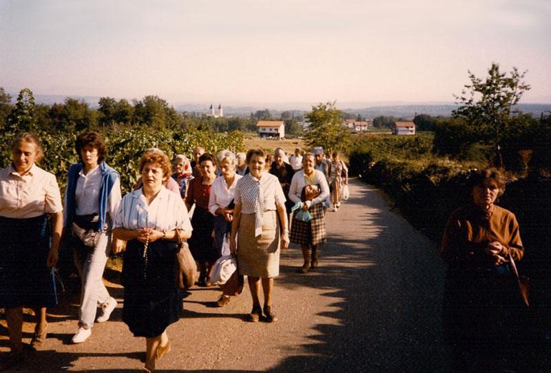 Verso krizevac 1984