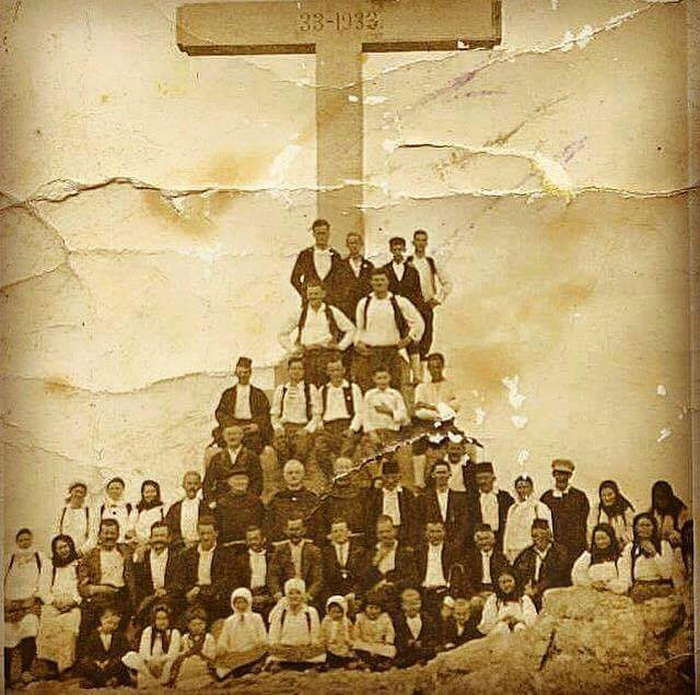 La grande croce fine anni '30