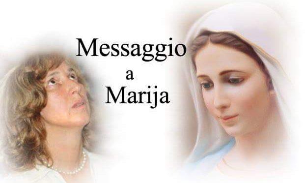 Messaggio, del 25 novembre 2018 dato a Marija